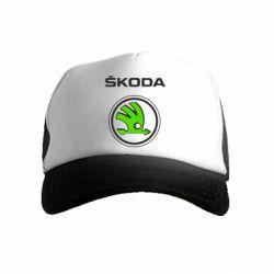 Детская кепка-тракер Skoda Bird