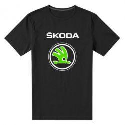 Мужская стрейчевая футболка Skoda Bird