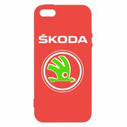 Чехол для iPhone5/5S/SE Skoda Bird