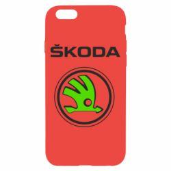 Чехол для iPhone 6 Skoda Bird