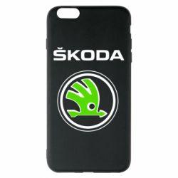 Чехол для iPhone 6 Plus/6S Plus Skoda Bird