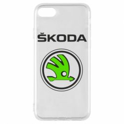 Чехол для iPhone 8 Skoda Bird