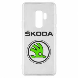 Чехол для Samsung S9+ Skoda Bird