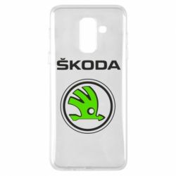 Купить Чехол для Samsung A6+ 2018 Skoda Bird, FatLine