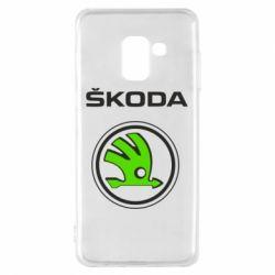 Чехол для Samsung A8 2018 Skoda Bird
