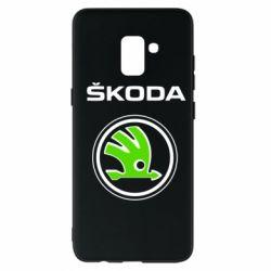 Чехол для Samsung A8+ 2018 Skoda Bird