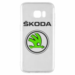Чехол для Samsung S7 EDGE Skoda Bird