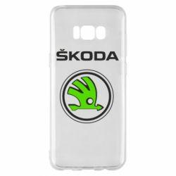 Чехол для Samsung S8+ Skoda Bird