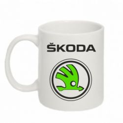 Кружка 320ml Skoda Bird - FatLine