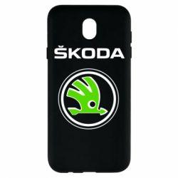 Чехол для Samsung J7 2017 Skoda Bird