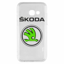 Чехол для Samsung A3 2017 Skoda Bird