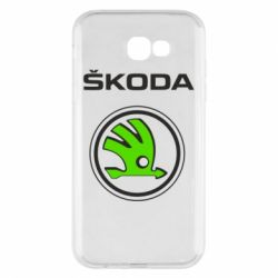 Чехол для Samsung A7 2017 Skoda Bird