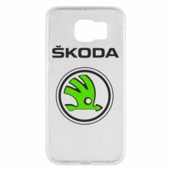 Чехол для Samsung S6 Skoda Bird