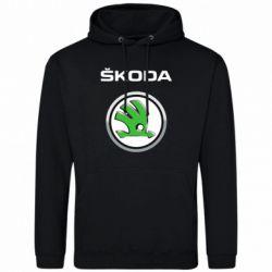 Мужская толстовка Skoda Logo 3D - FatLine