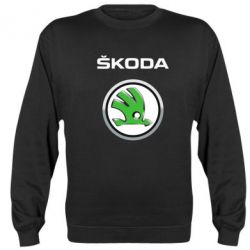 Реглан (свитшот) Skoda Logo 3D - FatLine
