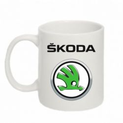 Кружка 320ml Skoda Logo 3D - FatLine