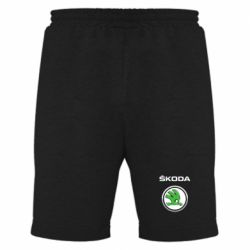 Мужские шорты Skoda Logo 3D