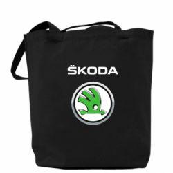 Сумка Skoda Logo 3D - FatLine