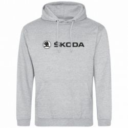Толстовка Skoda logo - FatLine