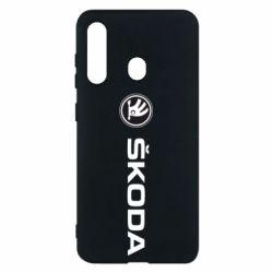 Чехол для Samsung M40 Skoda logo