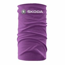 Бандана-труба Skoda logo