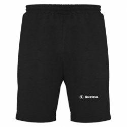 Мужские шорты Skoda logo - FatLine