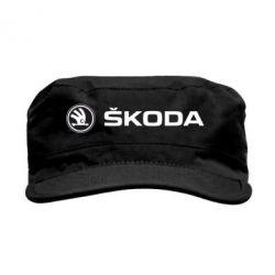 Кепка милитари Skoda logo - FatLine