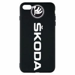 Чехол для iPhone 7 Plus Skoda logo