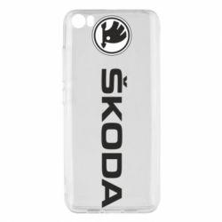 Чехол для Xiaomi Mi5/Mi5 Pro Skoda logo
