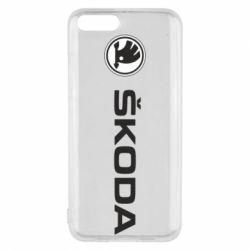 Чехол для Xiaomi Mi6 Skoda logo