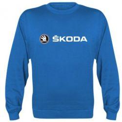 Реглан (свитшот) Skoda logo - FatLine