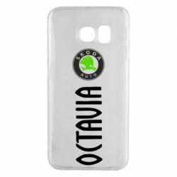 Чехол для Samsung S6 EDGE Skoda Octavia