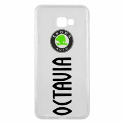 Чехол для Samsung J4 Plus 2018 Skoda Octavia