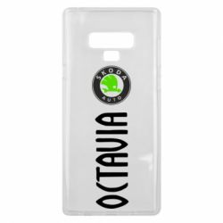 Чехол для Samsung Note 9 Skoda Octavia