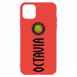 Чехол для iPhone 11 Skoda Octavia