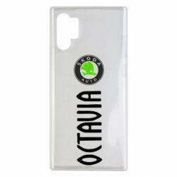 Чехол для Samsung Note 10 Plus Skoda Octavia