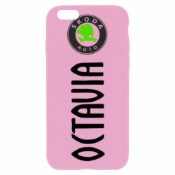 Чехол для iPhone 6/6S Skoda Octavia