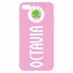 Чехол для iPhone 7 Plus Skoda Octavia
