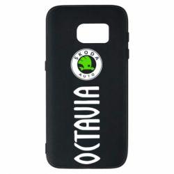 Чехол для Samsung S7 Skoda Octavia