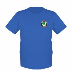 Детская футболка Skoda Small - FatLine