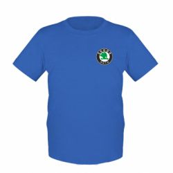 Детская футболка Skoda Small