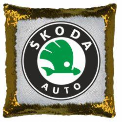 Подушка-хамелеон Skoda Small
