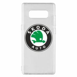 Чохол для Samsung Note 8 Skoda Small
