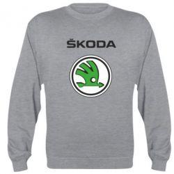 Реглан (свитшот) Skoda - FatLine