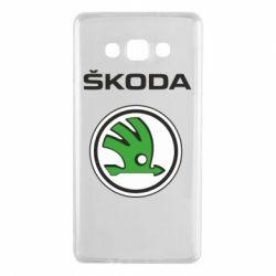 Чехол для Samsung A7 2015 Skoda