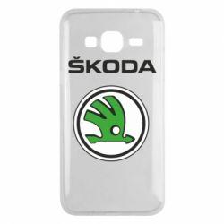 Чехол для Samsung J3 2016 Skoda