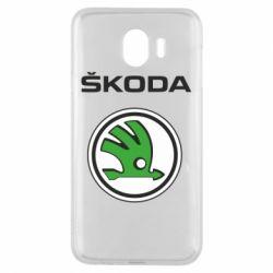 Чехол для Samsung J4 Skoda