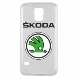 Чехол для Samsung S5 Skoda