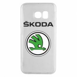 Чехол для Samsung S6 EDGE Skoda