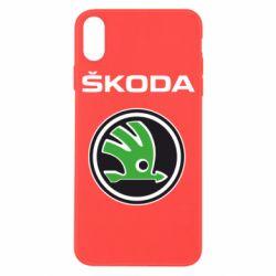Чехол для iPhone X/Xs Skoda